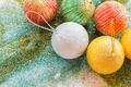 festival decorative ball on glitter background - PhotoDune Item for Sale