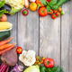 Vegetables on wooden table - PhotoDune Item for Sale