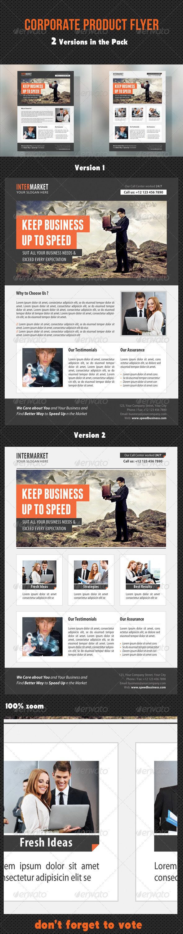GraphicRiver Corporate Product Flyer 95 8681650