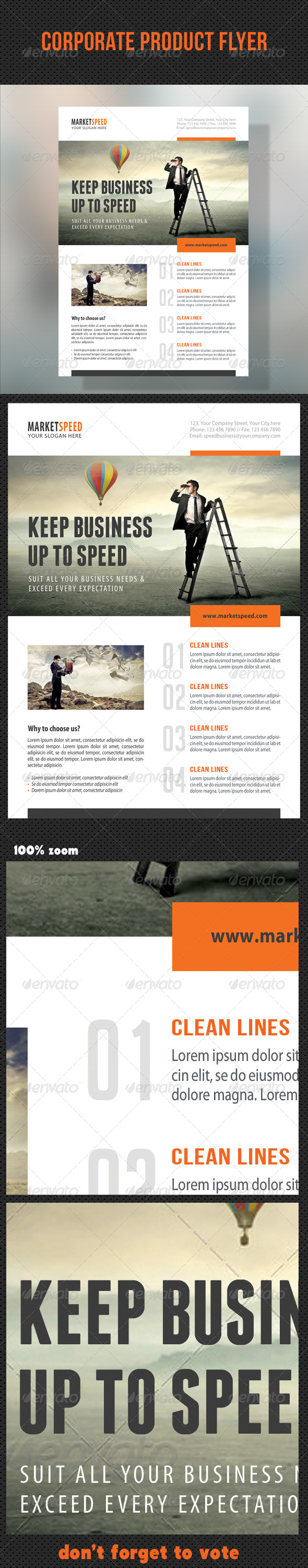 GraphicRiver Corporate Product Flyer 94 8681654