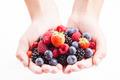 Berries in hands - PhotoDune Item for Sale