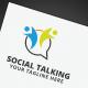 Social Talking Logo - GraphicRiver Item for Sale