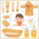 Set of Children's things for Bathing - GraphicRiver Item for Sale