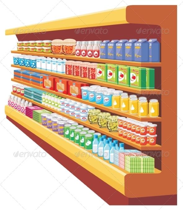 GraphicRiver Supermarket 8682636