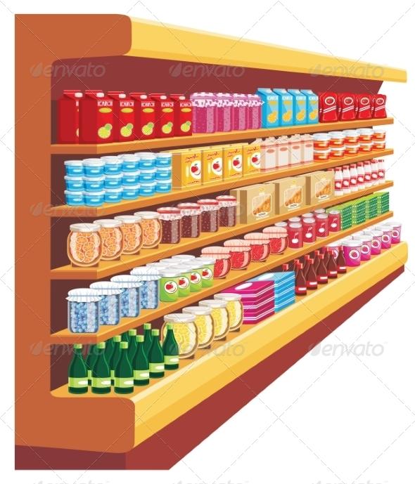 GraphicRiver Supermarket 8682665