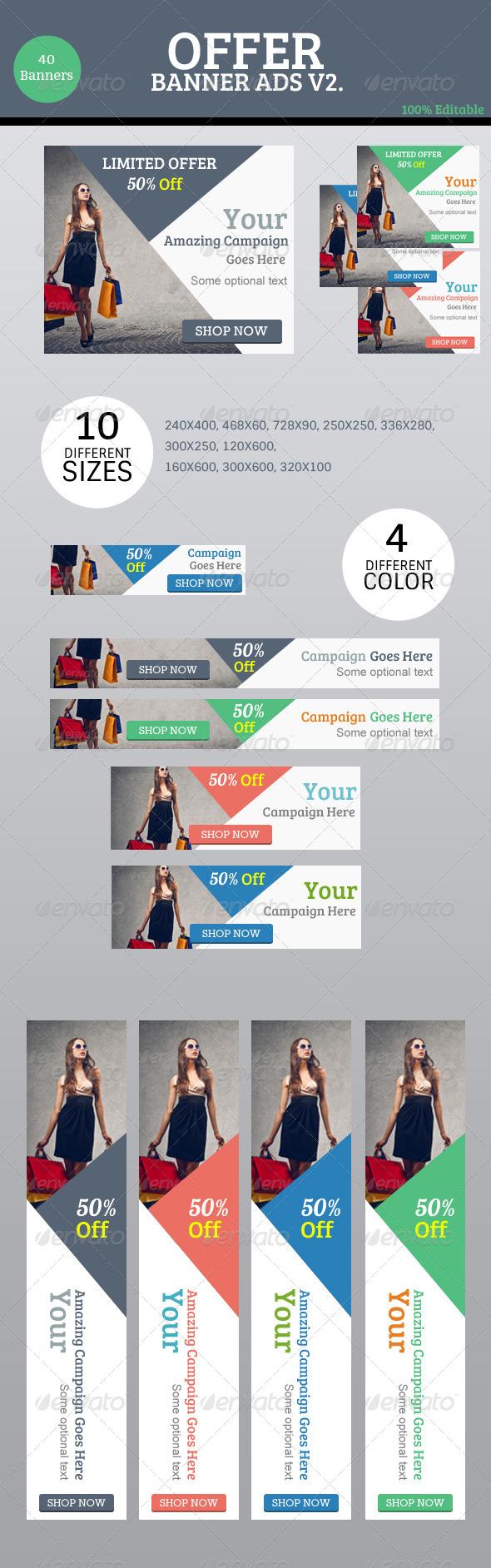 GraphicRiver Offer Banner Ads V2 8683096