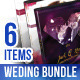 Wedding DVD Cover + Disc Label + Flyer Bundle Vol1 - GraphicRiver Item for Sale