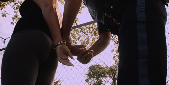 Girl Arrested 06