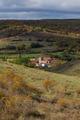 People of Spain in Church Fall - Pueblo de España con Iglesia e - PhotoDune Item for Sale