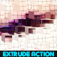 Extrude Photoshop Action - GraphicRiver Item for Sale
