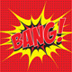 Bang! Comic Speech Bubble in Pop Art Style - GraphicRiver Item for Sale