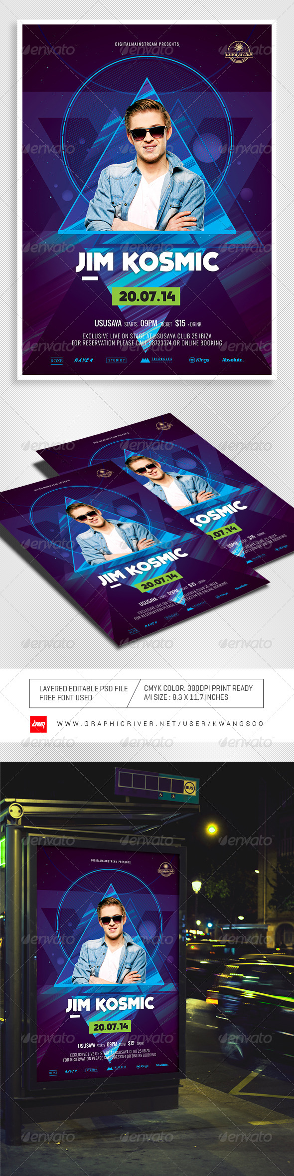 GraphicRiver Special Dj Electronic Dance Music Flyer Poster 3 8684744