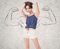 strong woman - PhotoDune Item for Sale