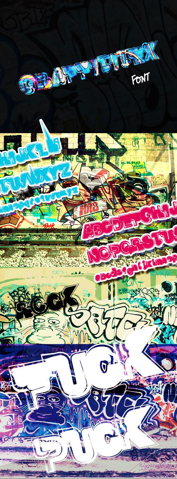 GraphicRiver Graffititex Font 8685525