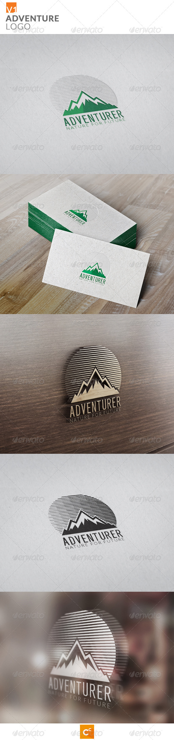 GraphicRiver Adventure Logo 8685614