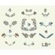 Set of Floral Graphic Design Elements - GraphicRiver Item for Sale