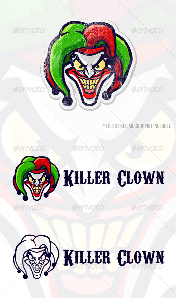GraphicRiver Killer Clown 8685740