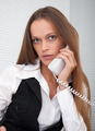 Young pretty business woman in the office - PhotoDune Item for Sale