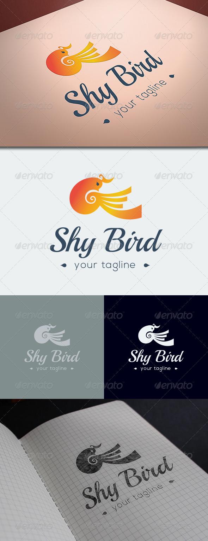 GraphicRiver Shy Bird Logo Template 8686042