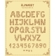 Vector Hand Drawn Retro Font - GraphicRiver Item for Sale