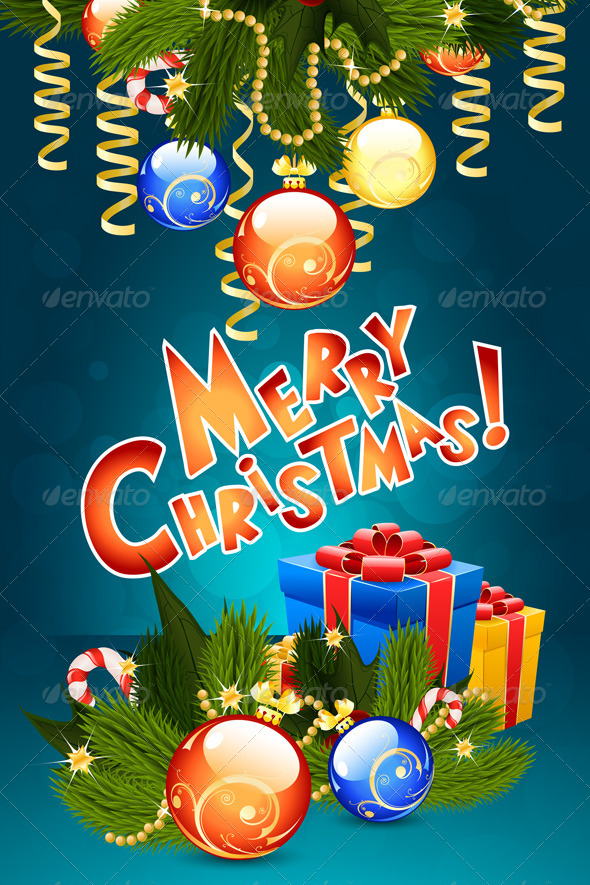 GraphicRiver Christmas Card Template 8686122