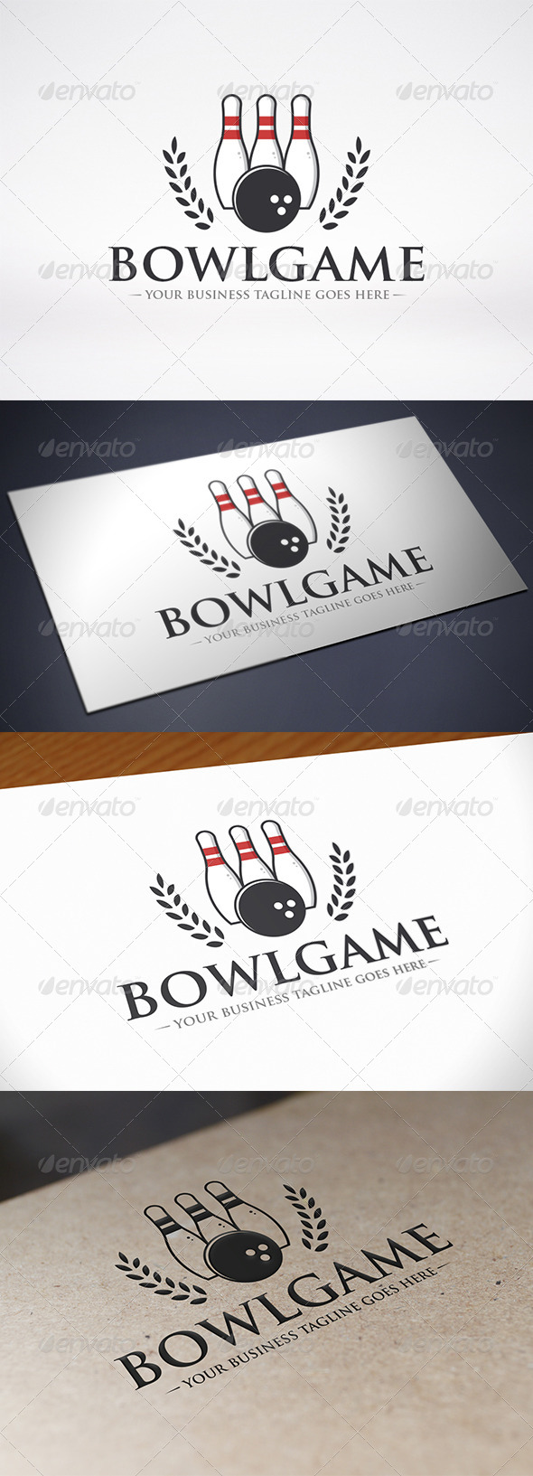 GraphicRiver Bowling Logo Template 8686409