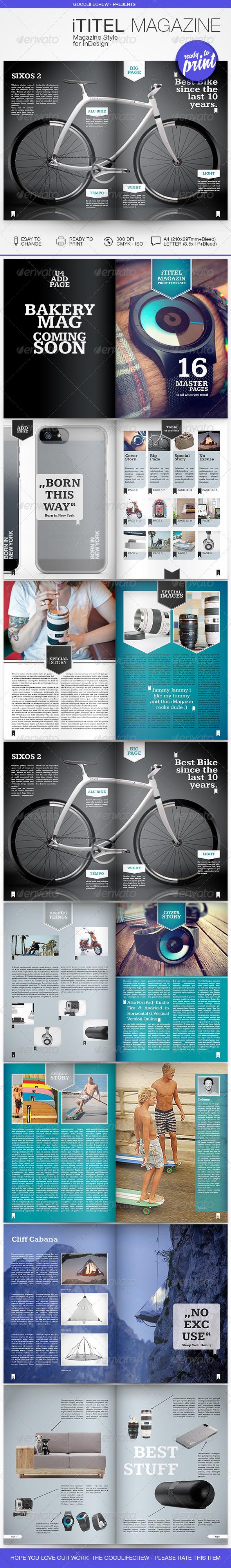 GraphicRiver Tech iTitelMagazine 8686411