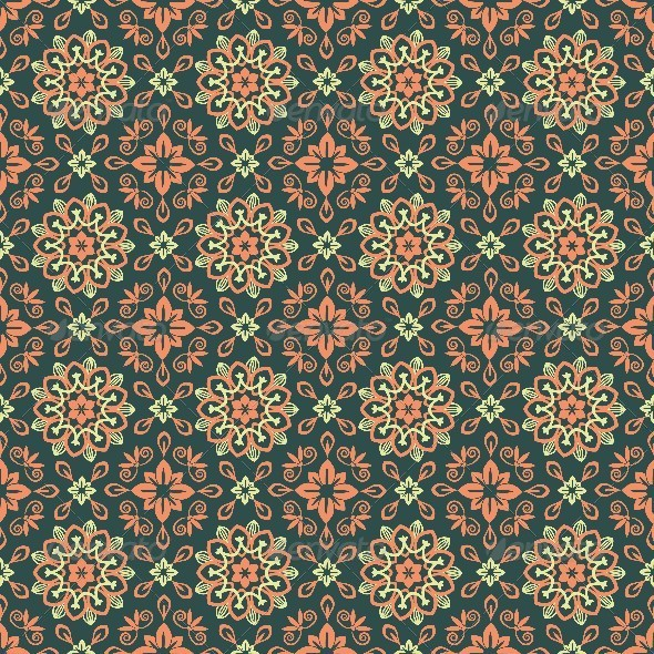 GraphicRiver Seamless Pattern 8686753