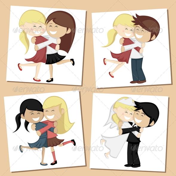GraphicRiver Hug Collection 8686971