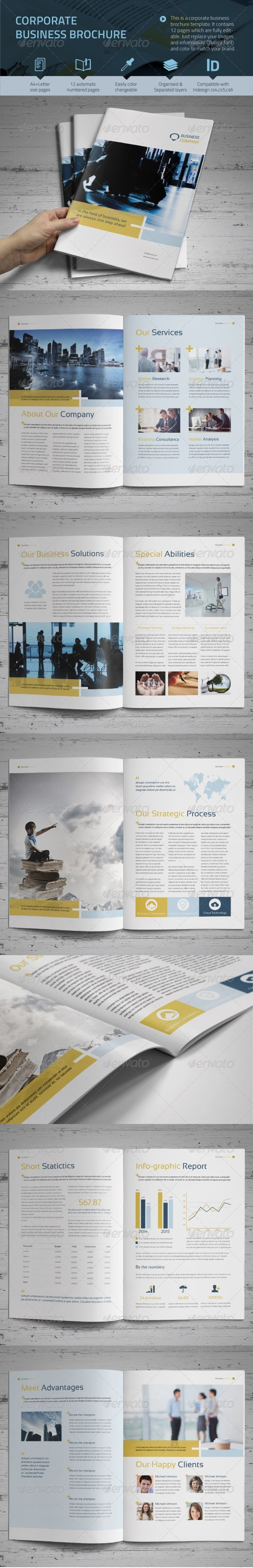 GraphicRiver Corporate Business Brochure vol.2 8686986
