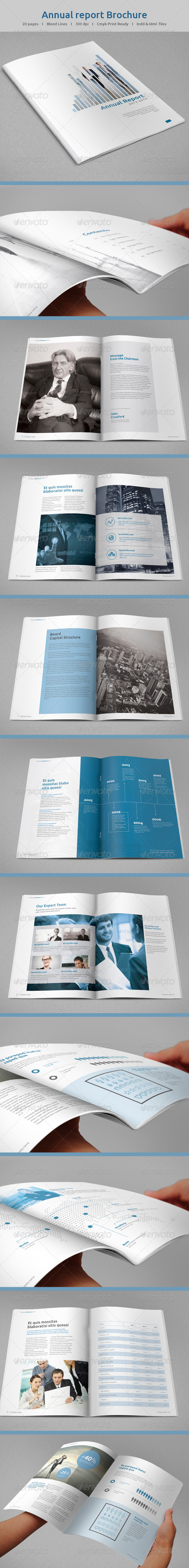 GraphicRiver Annual Report Template 8687165