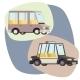 Retro Cartoon Cars - GraphicRiver Item for Sale