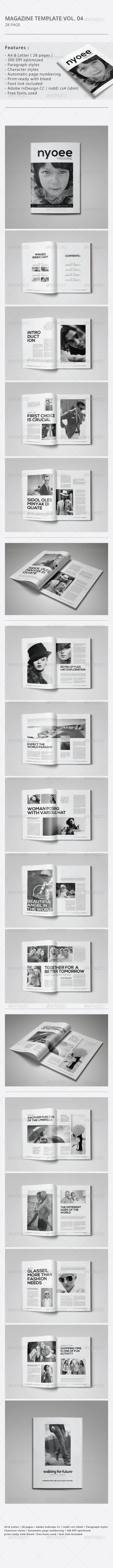 GraphicRiver Indesign Magazine Template Vol.04 8687967