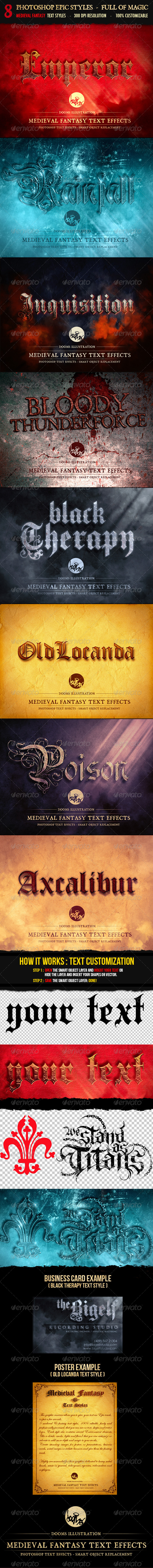 GraphicRiver Medieval Fantasy Text Effects 8641334