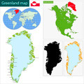 Greenland map - PhotoDune Item for Sale