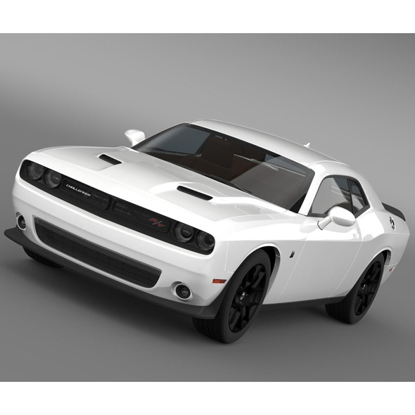 Dodge Challenger RT Scat Pack LC 2015 - 3DOcean Item for Sale
