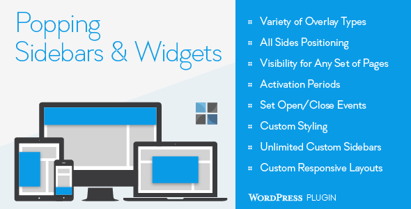 CodeCanyon Popping Sidebars and Widgets for WordPress 8688220
