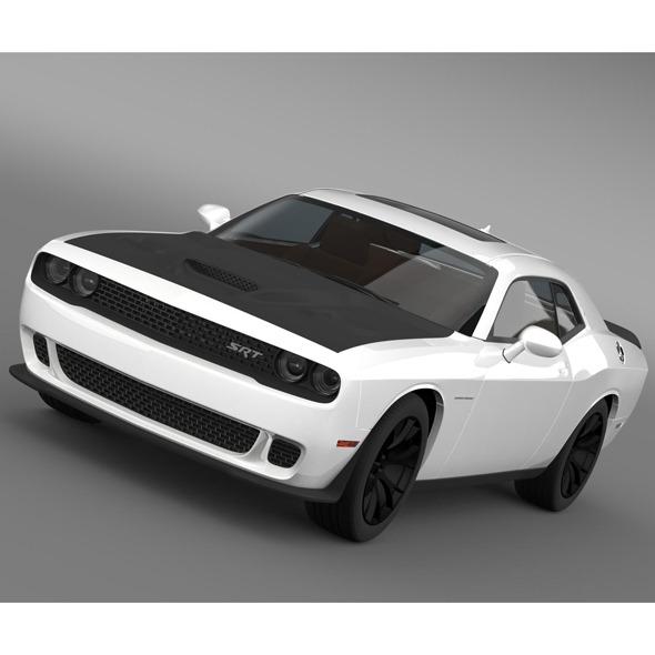 3DOcean Dodge Challenger SRT Helllcat Supercharged LC 2015 8688295