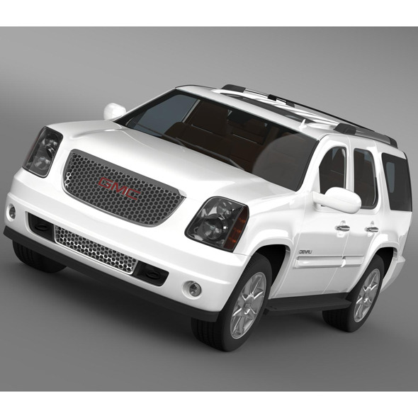 GMC Yukon Denali flexfuel 2011-2014 - 3DOcean Item for Sale