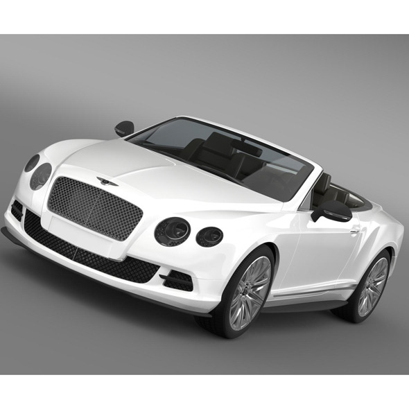 3DOcean Bentley Continental GT Speed Convertible 2012 8688459
