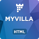 MyVilla - Real Estate HTML Landing Page