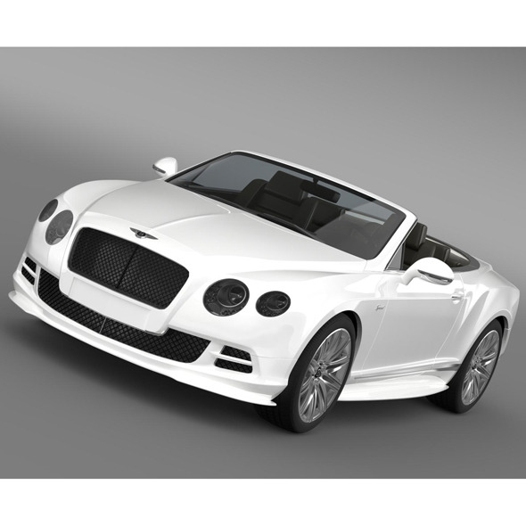 3DOcean Bentley Continental GT Speed Convertible 2014 8688491