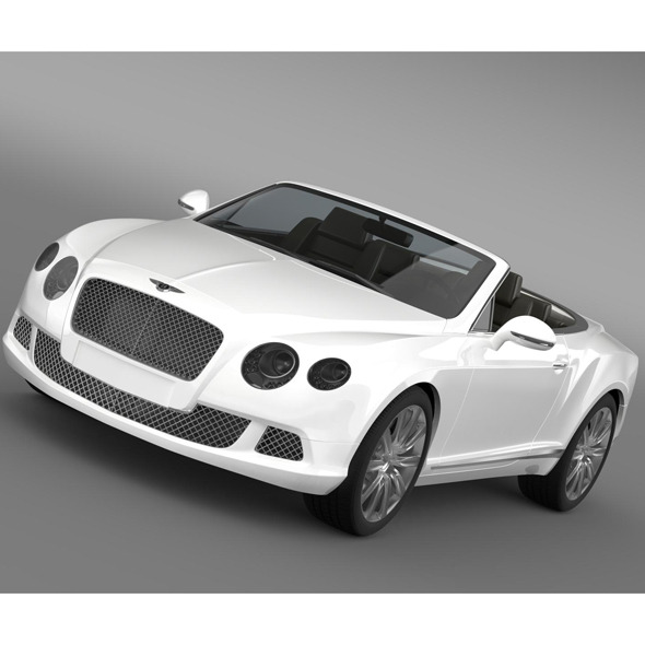 Bentley Continental GTC 2011 - 3DOcean Item for Sale