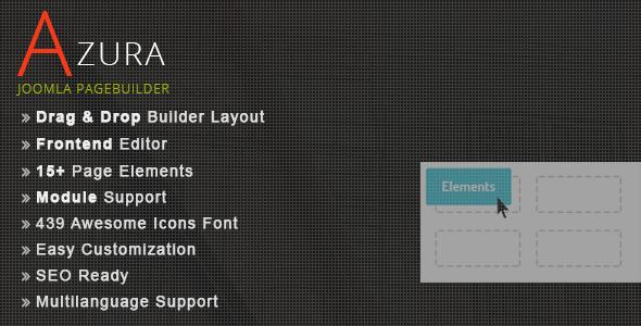 CodeCanyon Azura Joomla Pagebuilder 8658367