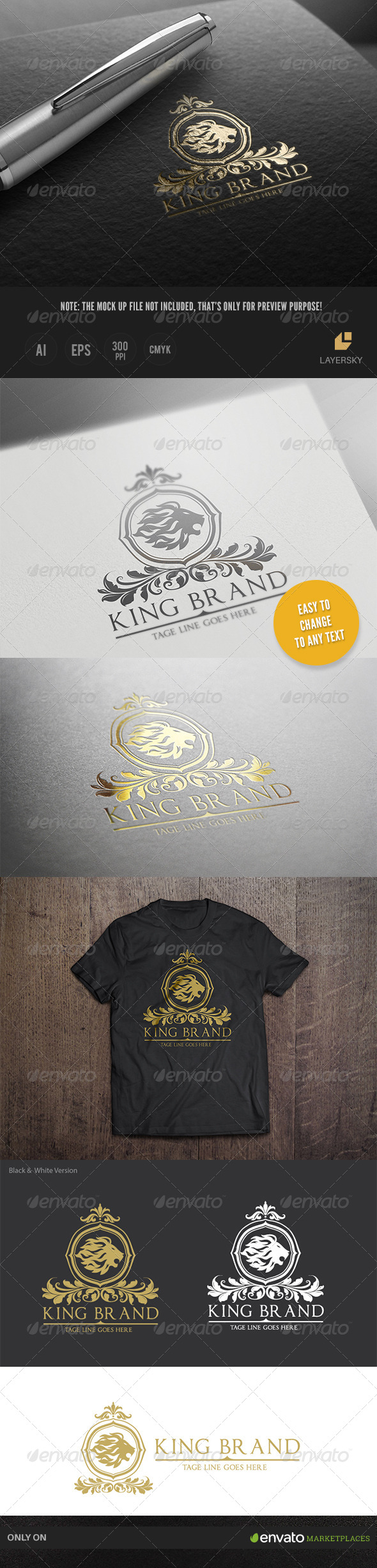 GraphicRiver King Brand 8688695