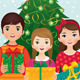 Children and Christmas Morning - GraphicRiver Item for Sale