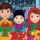 Children Enjoying Christmas - GraphicRiver Item for Sale