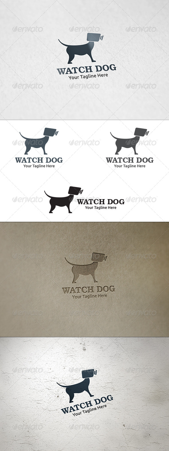 GraphicRiver Watch Dog Logo Template 8688774