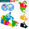 Canada map - PhotoDune Item for Sale