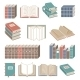 Book Icons Set Color - GraphicRiver Item for Sale